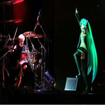 Hatsune Miku with Live Band